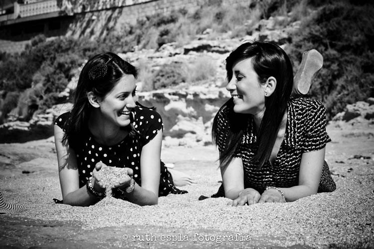 fotografía joven y veraniega en Alicante