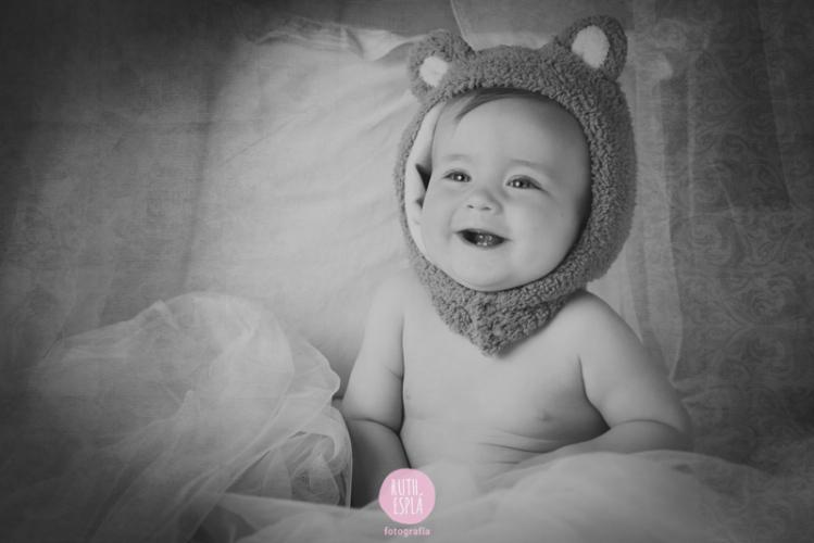fotografía peque bebé Alicante
