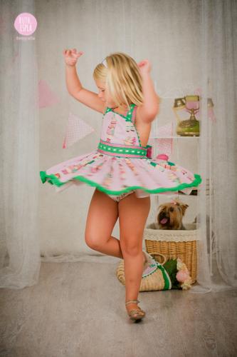 Fotografía niña en San Juan
